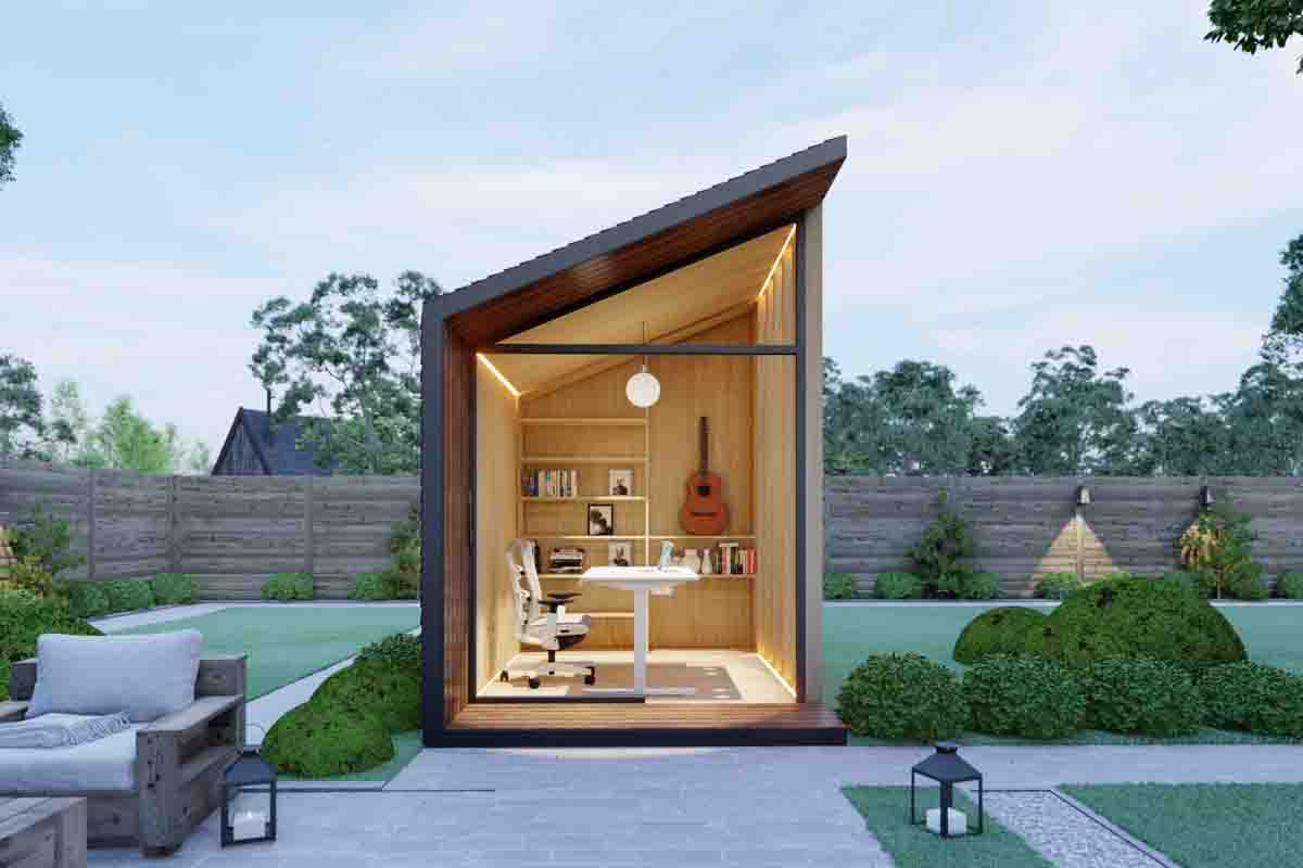 Create a Garden Office Shed