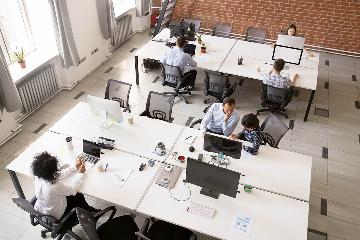 Open Office Furniture and Layout