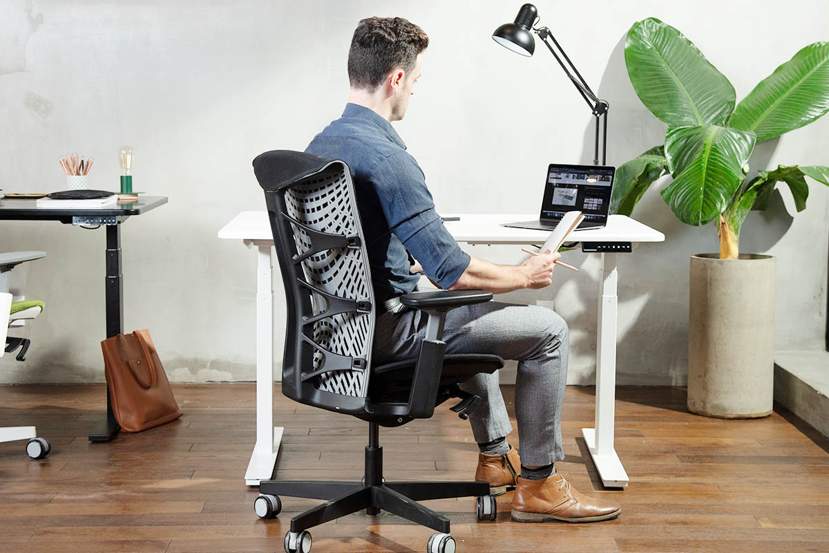 How To Sit Up Straight in Chair All Day?